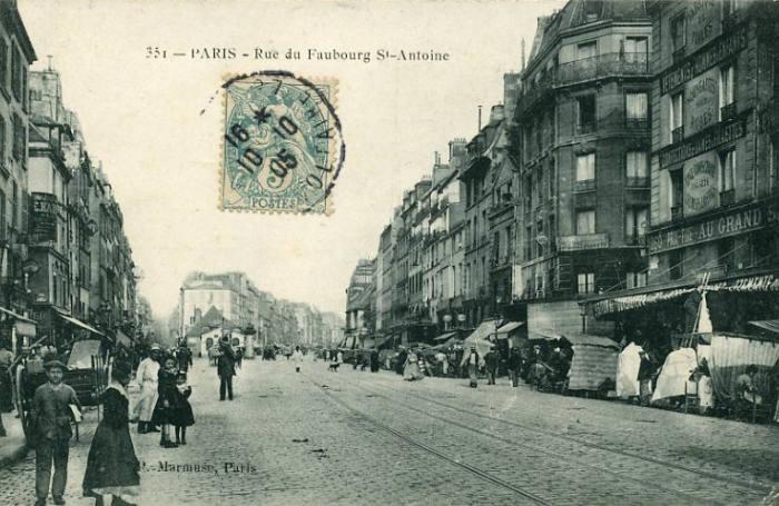 Cadrans solaires de paris 11 - Paris rue du faubourg saint antoine ...