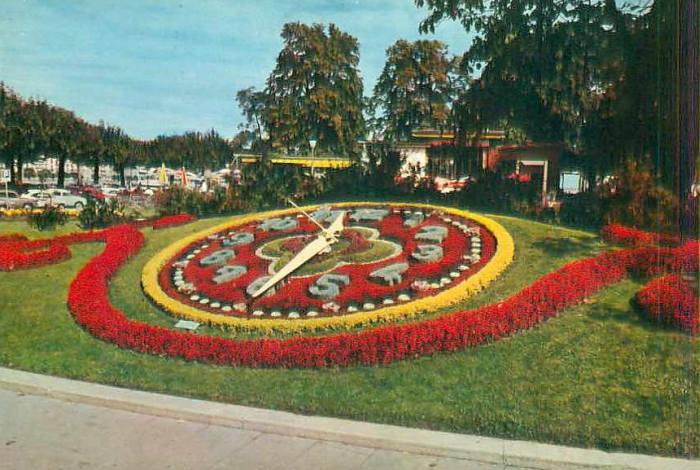horloges florales dans le monde