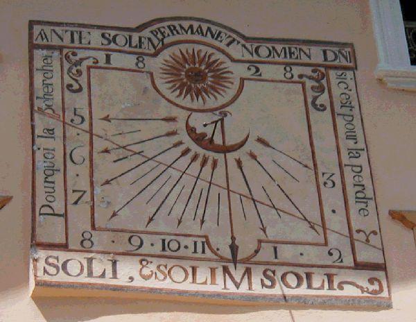 devise cadran solaire